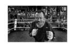 Boxer Joe Frazier in his gym in Philadelphia, Pa.  Date: October 21, 2006