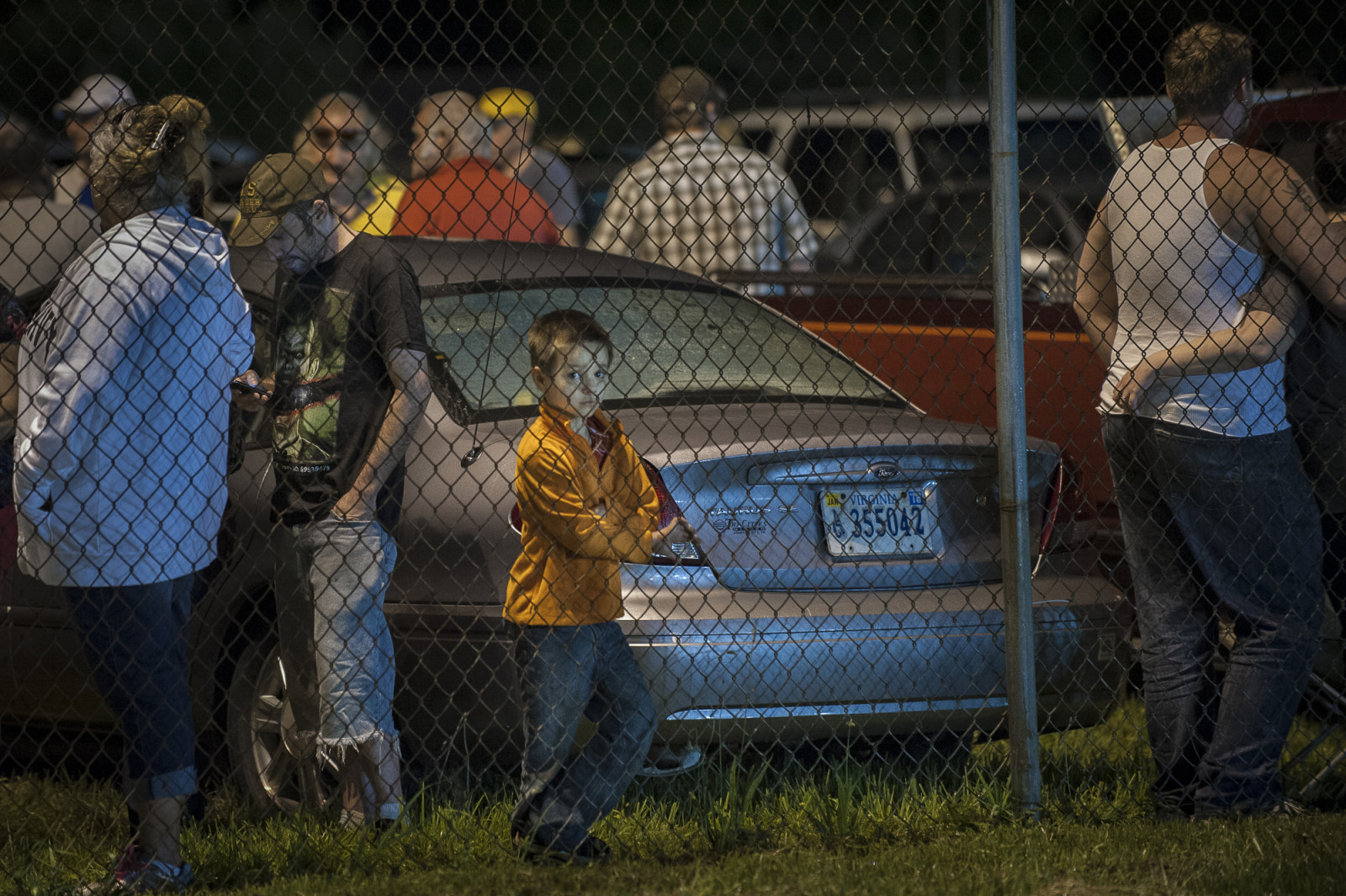 People wait in the parking lot in the early morning at the Wise County Fairgrounds where they hope to receive free medical care at the 16th annual Remote Area Medical (RAM), clinic in Wise, Virginia. Photo: Pete Marovich/Bloomberg